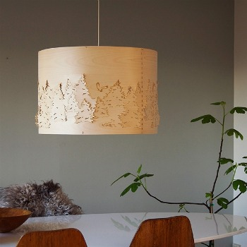 lamptwist forest product lamp en ceiling light tradition